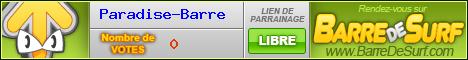 Votez pour Paradise-Barre !